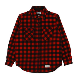 Wacko Maria Small Buffalo Check Shirt Red