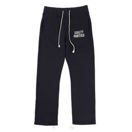 Wacko Maria Sweat Pants Navy
