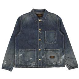 NBHD Washed Hutslas Jacket Indigo