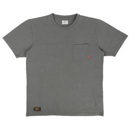 WTAPS Blank SS C-Neck T-Shirt Loopwheel Grey