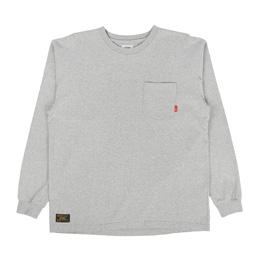 WTAPS Blank LS T-Shirt Loopwheel Grey