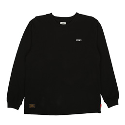 WTAPS Design L/S Heraldry T-Shirt Black