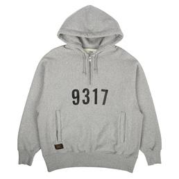 WTAPS Design Hooded Outrigger Sweatshirt Grey