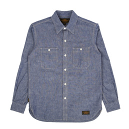 NBHD Headlight L/S Shirt Indigo