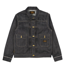 NBHD Rigid Stockman Jacket Indigo