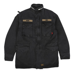 WTAPS M-65 Jacket Black