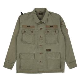 WTAPS Jungle L/S Shirt Olive Drab