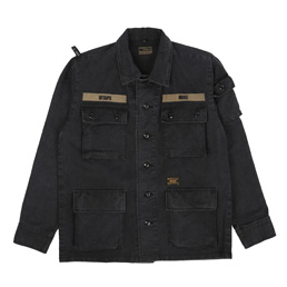 WTAPS Jungle L/S Shirt Black