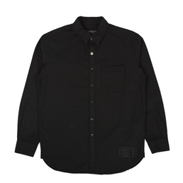 NBHD Plain LS Shirt Black