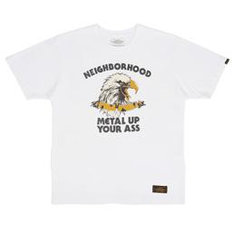 NBHD Metal Up SS T-Shirt White