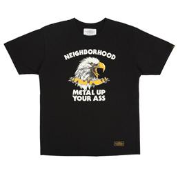 NBHD Metal Up SS T-Shirt Black