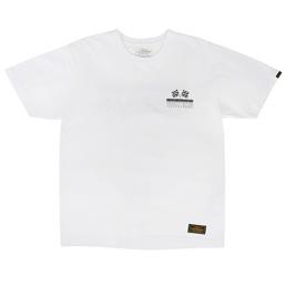 NBHD Flag SS T-Shirt White/ Black