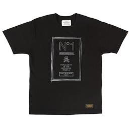 NBHD No.1 SS T-Shirt Black
