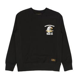 NBHD Jersey L/S Crew Black