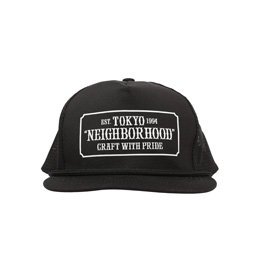 NBHD Bar & Shild Cap Black