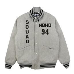 NBHD Stadium Jacket Grey