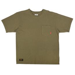 WTAPS Blank SS Loopwheel T-Shirt Olive