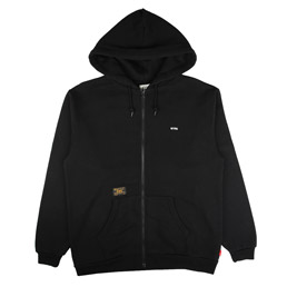 WTAPS Hellweek Zip Up Sweatshirt Black
