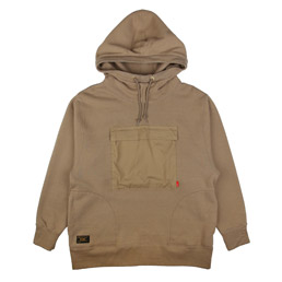 WTAPS UDT Hooded Sweatshirt Greige