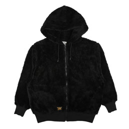 WTAPS Grizzly Hooded Sweatshirt Black
