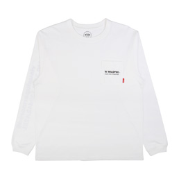 WTAPS W Mil Knit White