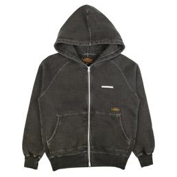 NBHD Classic Zip Hooded Sweatshirt Black