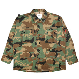 WTAPS Jungle LS Shirt Woodland