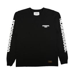 NBHD C.I LS T-Shirt Black