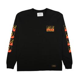NBHD Hell LS T-Shirt Black