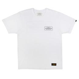 NBHD Bar&Shield SS T-Shirt White