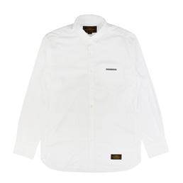 NBHD Classic White LS Shirt Whitr