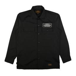 NBHD Classic Work LS Shirt Black