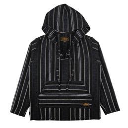 NBHD Weaving Hooded Jacket Navy