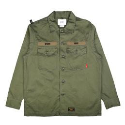 WTAPS Buds LS 01 Shirt Olive Drab