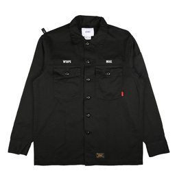 WTAPS Buds LS 01 Shirt Black