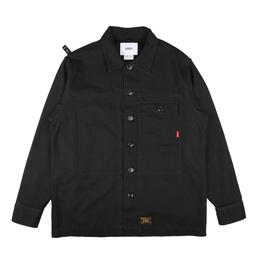 WTAPS HBT LS Shirt Black