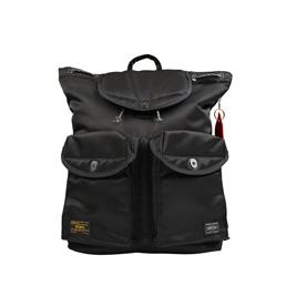 WTAPS Rucksack Porter Bag Black