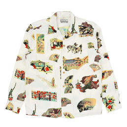 Wacko Maria 'Japan' Hawaiian Shirt - White