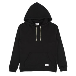 Wacko Maria Pullover Hooded Sweatshirt Black