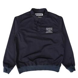 NBHD Pull Slub LS Shirt Navy
