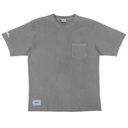 WTAPS Blank SS GPS Loopwheel T-Shirt Grey