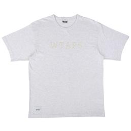 WTAPS Design SS College T-Shirt Grey