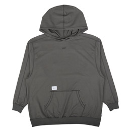 WTAPS L/S Hooded Copo T-Shirt Charcoal