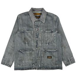 NBHD Savage Coverall Jacket Indigo