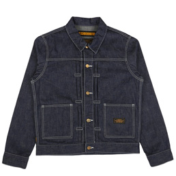 NBHD Stockman Jacket Indigo