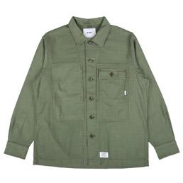 WTAPS HBT L/S Shirt Olive Drab