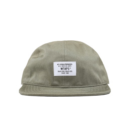 WTAPS A-3 Chino Cap Olive Drab