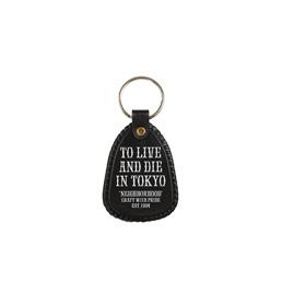 NBHD Tokyo Keyholder Black