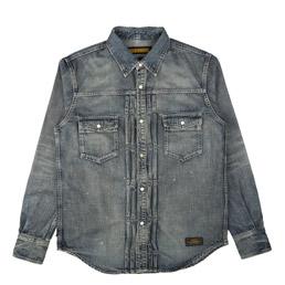 NBHD Savage Western LS Shirt Indigo