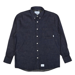WTAPS BD LS Shirt Indigo